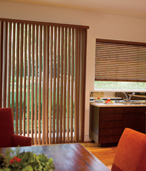 Visions. Levolor® Faux Wood Vertical Blinds: Visions