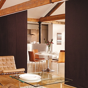 if youu0027re looking for a room divider panel track blinds are a stylish and budget friendly solution that provide a variety of features