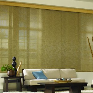 One Alternative To Vertical Blinds. Vertical Blinds Are The Ubiquitous  Window Treatments ...
